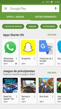 Instala las aplicaciones - Samsung Galaxy Note 5 - N920 - Passo 7