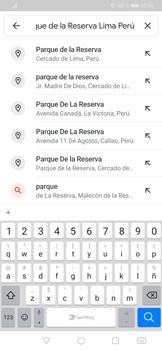 Uso de la navegación GPS - Huawei P30 - Passo 8