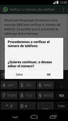 Configuración de Whatsapp - Motorola Moto E (1st Gen) (Kitkat) - Passo 6