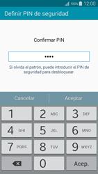 Desbloqueo del equipo por medio del patrón - Samsung Galaxy A5 - A500M - Passo 14