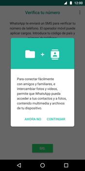 Configuración de Whatsapp - Motorola Moto G6 Plus - Passo 5