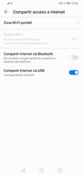 Comparte la conexión de datos con una PC - Huawei Y7 2019 - Passo 8