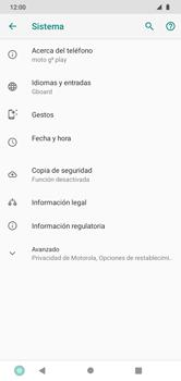 Realiza una copia de seguridad con tu cuenta - Motorola Moto G8 Play (Single SIM) - Passo 5