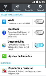 Configura el WiFi - LG L70 - Passo 4