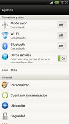Configura el WiFi - HTC ONE X  Endeavor - Passo 4