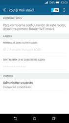 Configura el hotspot móvil - HTC One M9 - Passo 11