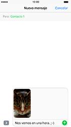 Envía fotos, videos y audio por mensaje de texto - Apple iPhone 7 - Passo 14