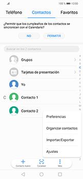 ¿Tu equipo puede copiar contactos a la SIM card? - Huawei Mate 20 Lite - Passo 4
