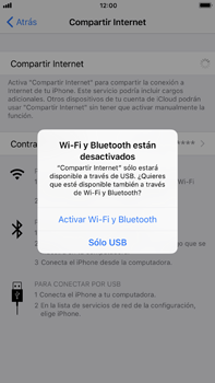 Configura el hotspot móvil - Apple iPhone 7 Plus - Passo 7