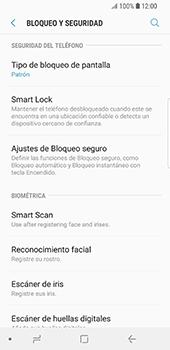 Desbloqueo del equipo por medio del patrón - Samsung Galaxy S9 - Passo 12