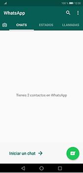 Usar WhatsApp - Huawei P20 Pro - Passo 3