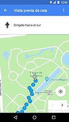 Uso de la navegación GPS - LG K8 (2017) - Passo 17