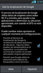 Activa el equipo - LG Optimus L7 - Passo 8