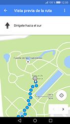 Uso de la navegación GPS - Huawei Cam Y6 II - Passo 20