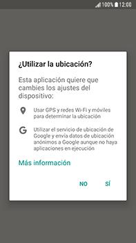 Uso de la navegación GPS - Samsung Galaxy J7 Prime - Passo 6
