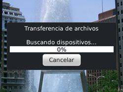 Transferir fotos vía Bluetooth - BlackBerry Curve 9320 - Passo 14