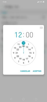 Cómo cambiar la fecha y hora - LG K40S - Passo 8