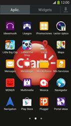 Instala las aplicaciones - Samsung Galaxy S4  GT - I9500 - Passo 3