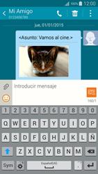 Envía fotos, videos y audio por mensaje de texto - Samsung Galaxy A5 - A500M - Passo 23