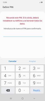 Habilitar seguridad de huella digital - Samsung Galaxy S10 Lite - Passo 9