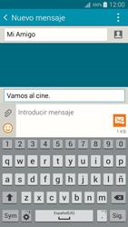 Envía fotos, videos y audio por mensaje de texto - Samsung Galaxy A5 - A500M - Passo 12