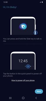 Cómo habilitar el asistente Bixby - Samsung Galaxy S20 - Passo 3