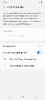Cómo activar el modo Descanso visual para evitar la fatiga visual - Samsung Galaxy S20 - Passo 6