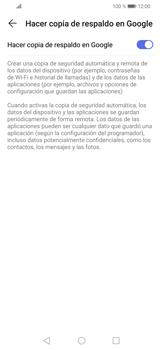 Realiza una copia de seguridad con tu cuenta - Huawei P30 Lite - Passo 7