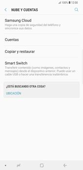 Desactivar la sincronización automática - Samsung Galaxy S9 Plus - Passo 5