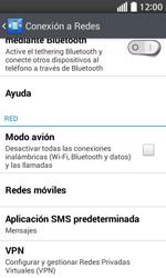 Configura el Internet - LG L70 - Passo 5