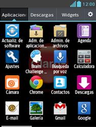 Transferir fotos vía Bluetooth - LG Optimus L3 II - Passo 3