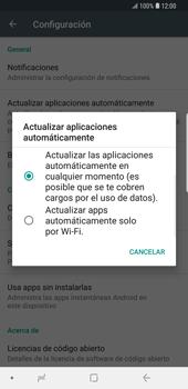 Cambiar configuración de actualizaciones de aplicaciones - Samsung Galaxy S9 Plus - Passo 6