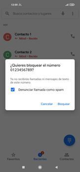 Cómo bloquear llamadas - Xiaomi Redmi Note 9T 5G - Passo 5