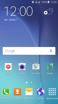 Cómo insertar la SIM card - Samsung Galaxy J7 - J700 - Passo 1