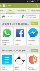 Instala las aplicaciones - Samsung Galaxy A3 - A300M - Passo 5