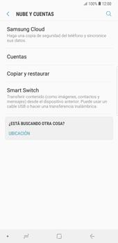 Realiza una copia de seguridad con tu cuenta - Samsung Galaxy Note 9 - Passo 5