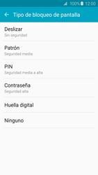 Desbloqueo del equipo por medio del patrón - Samsung Galaxy S6 Edge - G925 - Passo 6