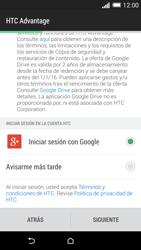 Activa el equipo - HTC One M8 - Passo 7