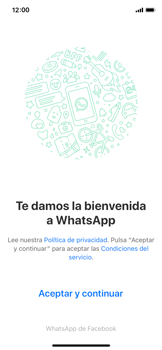 Configuración de Whatsapp - Apple iPhone 11 Pro - Passo 4