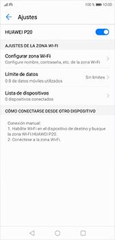 Configura el hotspot móvil - Huawei P20 - Passo 10