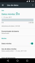 Desactiva tu conexión de datos - Motorola Moto G5 - Passo 4