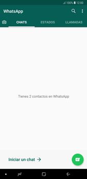 Usar WhatsApp - Samsung A7 2018 - Passo 3