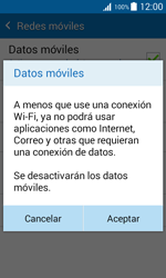 Desactiva tu conexión de datos - Samsung Galaxy J1 - J100 - Passo 6