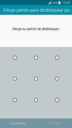 Desbloqueo del equipo por medio del patrón - Samsung Galaxy A3 - A300M - Passo 7