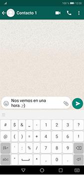 Usar WhatsApp - Huawei P20 Pro - Passo 6