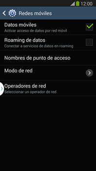 Configura el Internet - Samsung Galaxy Note Neo III - N7505 - Passo 6