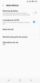 Configura el Internet - Samsung Galaxy S8 - Passo 8
