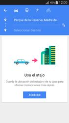 Uso de la navegación GPS - Samsung Galaxy A5 - A500M - Passo 10
