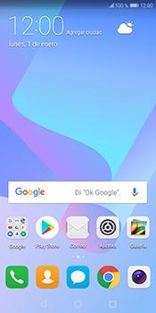 Desactivación límite de datos móviles - Huawei Y6 2018 - Passo 1