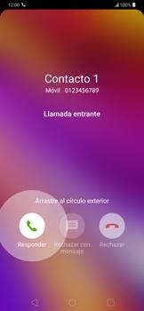 Contesta, rechaza o silencia una llamada - LG G7 ThinQ - Passo 3